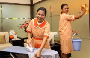 Filipino maids