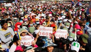 Garment workers protests