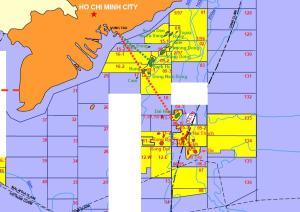 Gazprom Vietnam blocks