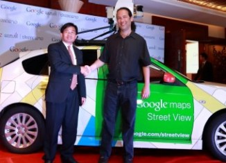 Google Street View comes to Laos