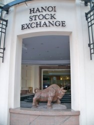 Hanoi stock exchange