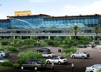 Myanmar new airport's construction stalled