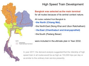 High-speed map Thailand