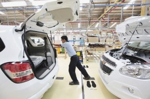 Indonesia car factory