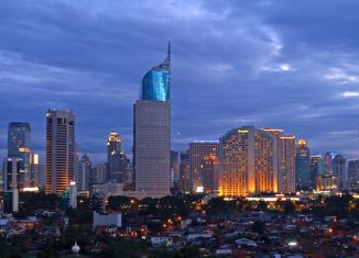Indonesian growth in decelerating trend
