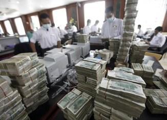 China, Japan, India lead Myanmar lending