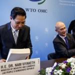 Laos joins World Trade Organisation