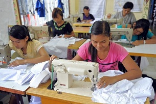 Lao garment industry booming