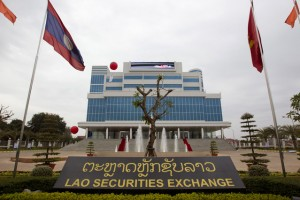 Laos-stock-exchange