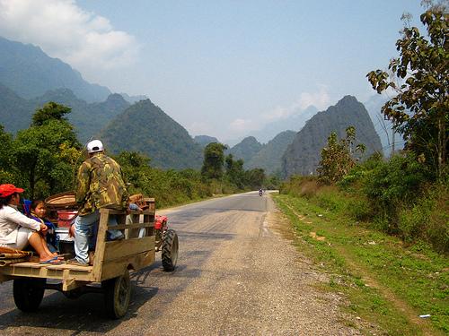Laos Highway
