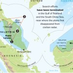 Infographic: The mystery surrounding flight MH370