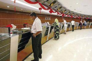 Malaysia bank teller