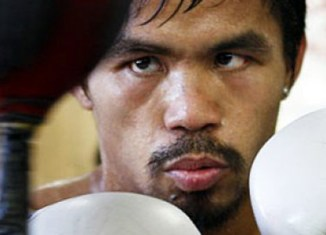 Boxer Manny Pacquiao wants to run for president