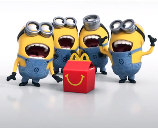 """Minion"" Happy Meal toy madness at McDonald's Singapore ..."