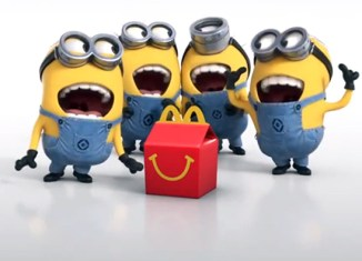 """""""Minion"""" Happy Meal toy madness at McDonald's Singapore."""