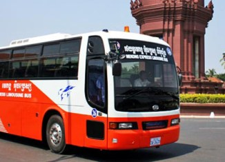 Phnom Penh introduces public buses