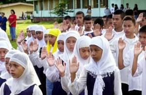 PHILIPPINES-MUSLIM STUDENTS