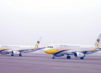 Myanmar Airways to fly to UAE by 2015