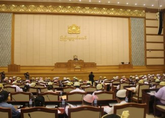 Myanmar Parliament Meeting