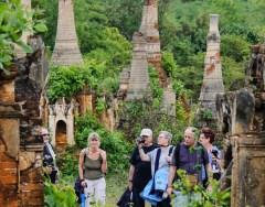 Myanmar tourists