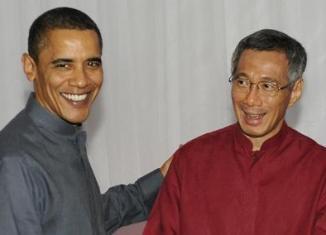 Obama to push TPP with Singapore PM