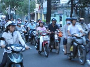 HCMC's infamous traffic