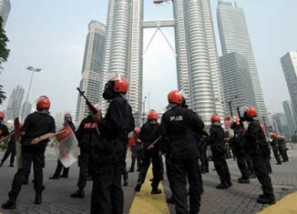 Malaysia prepares for New Year's Eve protests