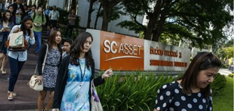 Staff leaving the SC Asset office