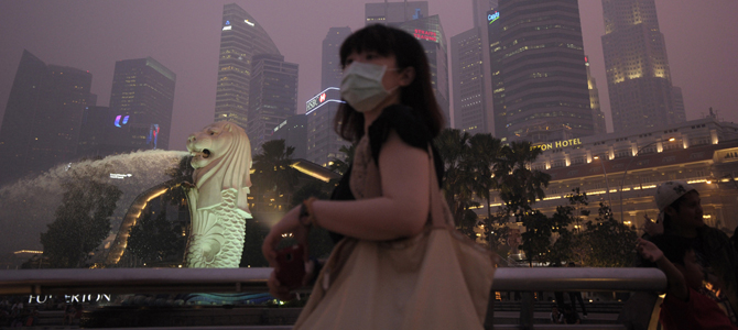 Singapore haze hits worst level, could last for weeks