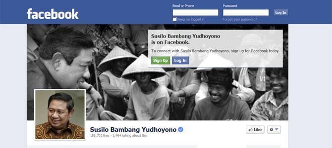 Indonesia's president scores high on social media
