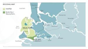Tanjung Manis halal park