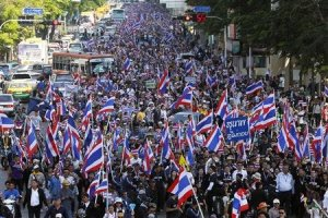 Thai rallies