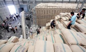 Thai rice stockpiles