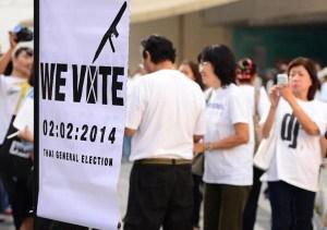 Thai vote