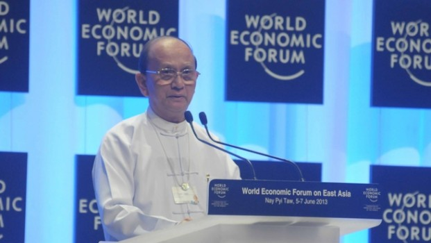 Myanmar builds international confidence at WEF