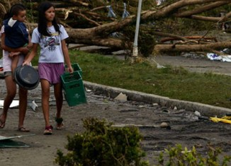 Philippine's third quarter GDP growth hit by disasters