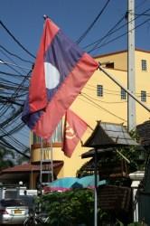 Vientiane flags