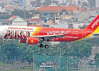 VietJet eyes expansion to Myanmar, Laos, Cambodia