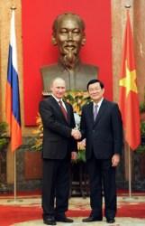 Vladimir Putin, Truong Tan Sang