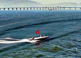 Vietnam starts building its longest sea bridge