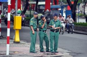 Vietnam tourist police