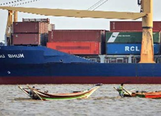 Myanmar ports' workload doubled in 10 years