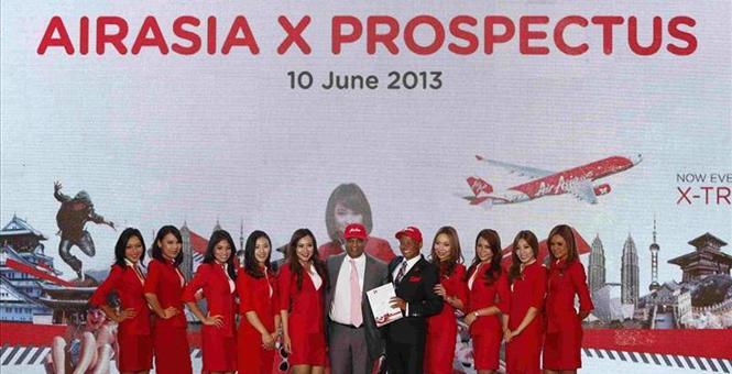 AirAsia X in moderate bourse debut