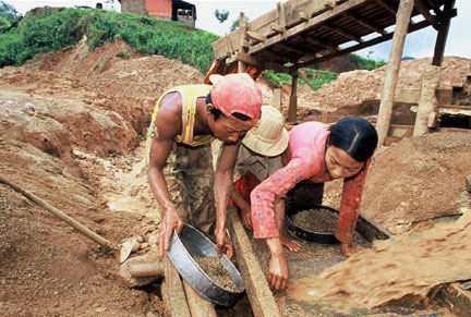 Mining block permits issued in Myanmar