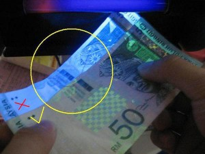 fake ringgit detect1