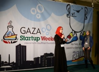 Tech start-ups in Gaza get support