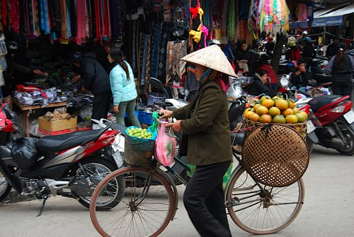 Market vendors in Bac Ha, northern Vietnam