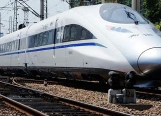 Laos breaks ground on high-speed train project