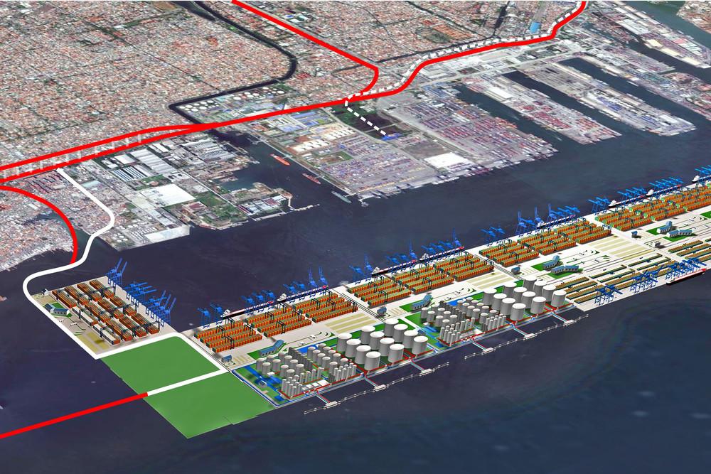 Dutch company expands Jakarta port