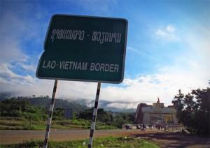 laos-vietnam-border-sign